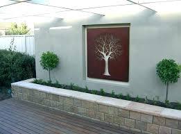 exterior wall art ideas outdoor wall decor ideas outdoor wall decorations garden outdoor tree outdoor wall on external wall art ideas with exterior wall art ideas kindundjob