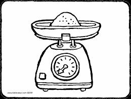 Cooking And Baking Kleurprenten Page 2 Of 5 Kiddicolour