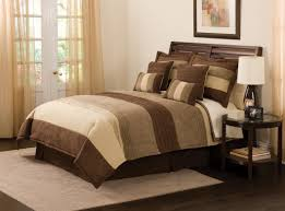 Tan Bedroom Brown And Tan Bedding Sets With Regard To Your Property Design Ideas