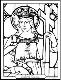 Small Picture Stained Glass Window Stained Glass Window Coloring Pages