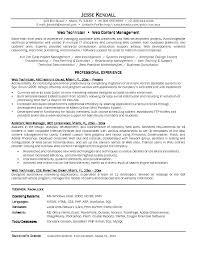 Support Technician Resume Network Technician Resume Sample Major Magdalene Project Org