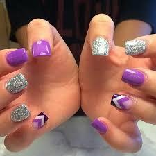 Purple N Sparkle Nehty Naglar