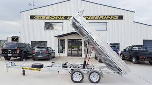 Tipping Box Trailer Designs Gibbons Engineering Trailers For Sale Hamilton Waikato