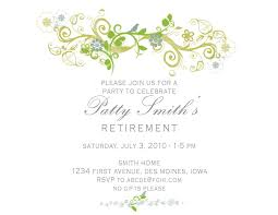 Retirement Invitations Free Free Templates For Retirement Party Invitations Powerpoint