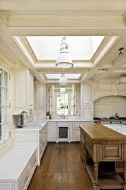 Farmhouse Kitchen with Skylight