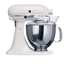 kitchenaid mixer white.