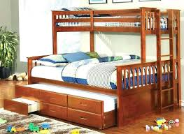 Queen Over Twin Trundle Bed Trundle Bed Queen Queen Trundle Bed ...