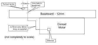 suitability of conrad point motors model train help blog Wiring Diagram Seep Point Motors conrad point motor sketch wiring diagram seep point motors