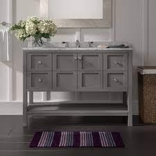 Beachcrest Home Caldwell 48 Single Bathroom Vanity Set Reviews Wayfair