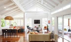 Contemporary Open Living Room