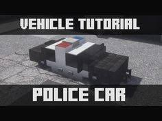 how to make a car in minecraft.  Minecraft Minecraft Car New Tutorial How To Make A Police Station Interior  Exterior With To In