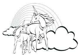 Extravagant Coloring Pages Of Unicorns To Print Princess Pegasus
