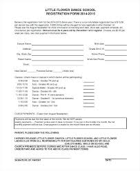 Registration Form Template Word Free Free School Registration Form Template Word Application