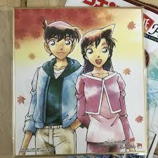 DETECTIVE CONAN - Illustration board vol.3 - Akai Amuro Kid Ran Ai Heiji  Gin