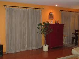 if you have orange walls what color curtains do you have