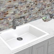 Nantucket Sinks Pr3322dmw 33 Inch Dual Mount Granite Composite