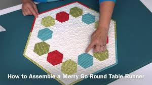 terry s tips merry go round table runner
