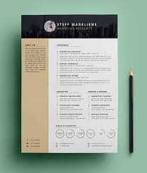 Free Download Resume Design Templates 20 Free Cv Resume Templates