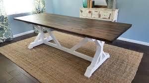 fancy x farmhouse table parris design co