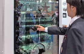 Advanced Vending Machines Enchanting Transparent Touchscreen Vending Machine