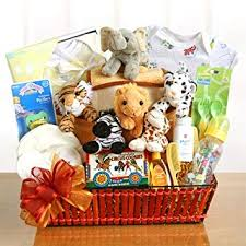 image unavailable image not available for color noah s ark newborn baby gift basket