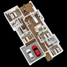 4 Bedroom House Designs New Design