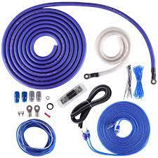 SKAR0ANL-OFC   1/0 Gauge - 3,000 Watt OFC Amplifier Wiring Kit - Skar Audio