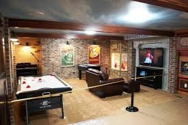 Unfinished Basement Design Property Simple Ideas
