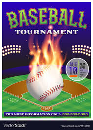 Free Baseball Flyer Template Baseball Tournament Flyer 3