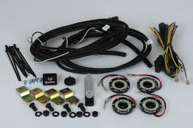 kc hilites cyclone led rock light kit 07 18 jeep jk 4 pc clear how to wire kc daylighters at Kc Hilites Wiring Harness