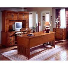 craftsman furniture. Mission Craftsman Oak Deluxe Executive Desk Furniture