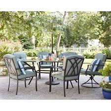 Garden Treasures Cascade Creek 7 Piece Dining Set Cascade Creek 7
