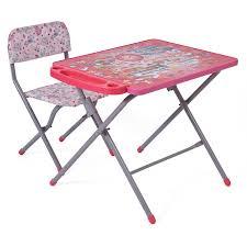 <b>Комплект детской мебели Фея</b> Досуг 201 Алфавит розовый