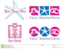 Set Of Logo For Wedding Planner And Co Stock Vector Image 39012269