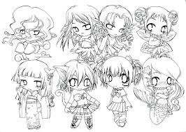 Cute Anime Coloring Pages 5f9r Chibi Coloring Pages Cute Free