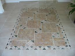 Mosaic Kitchen Floor Beige Marble Kitchen Floor