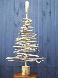 Coastal Branch Tree For Christmas  Crafts By AmandaWooden Branch Christmas Tree