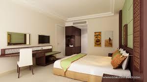 3d design bedroom. 3d Render Visualization Of Hotel Bedroom 3D Architectural Design