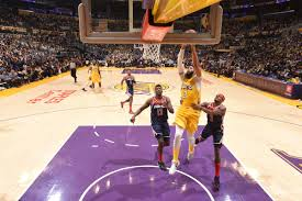 Lakers vs. Wizards Final Score: LeBron, AD make it a 10-game win streak -  Silver Screen and Roll