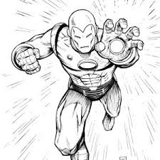 Small Picture Iron Man Coloring Pages Powerful Iron Page adult