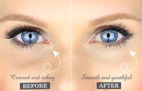 stops concealer going into wrinkles