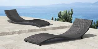 Inspirations Outdoor Lounge Furniture With Black & White Modern