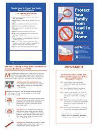 ohio lead based paint disclosure form lead paint pamphlet_ _free_epaisclosure