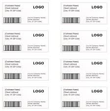 Shipping Labels Templates 10 Shipping Label Templates Free Printable Word Pdf Formats