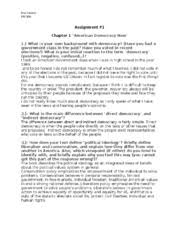 exam exam introduction to american government part i essay most popular documents from waubonsee