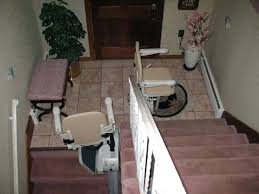 Stair Chair Easy Climber Stair Lifts Elderly Woman Image Stair Chair