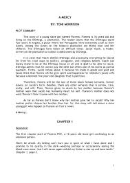 the kite runner sparknote summary essay format summary essay  a mercy plot summary