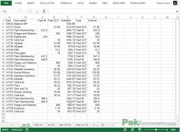 Cash Flow Summary Template Making Cash Flow Summary In Excel Using Pivot Tables With