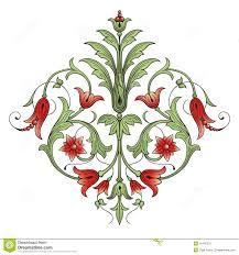 Flower Decoration Design Flower Decoration Design Element Stock Vector Illustration Of 3