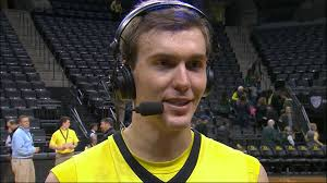 Casey Benson discusses overtime win by Oregon men's basketball vs. UCSB |  Pac-12